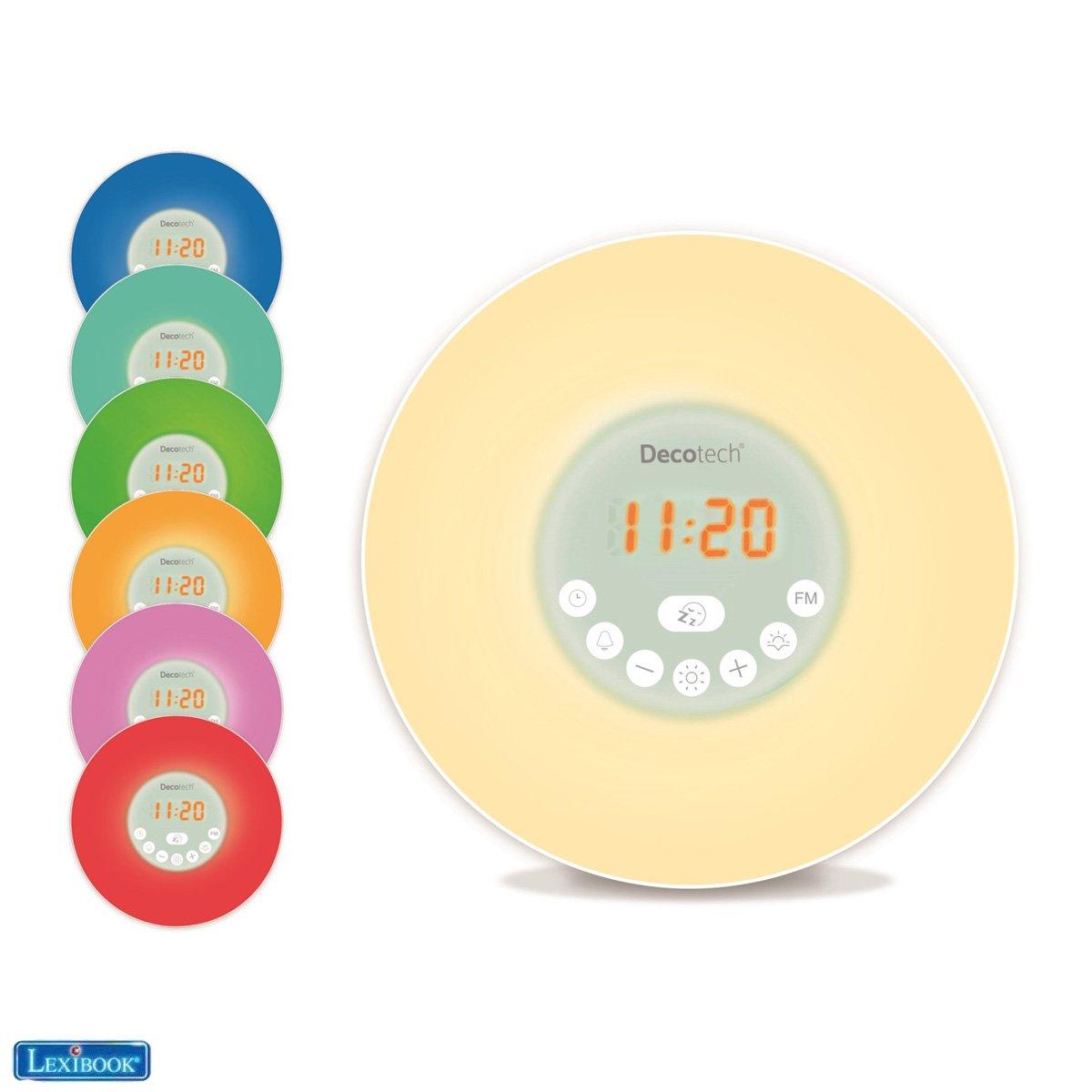Lexibook - Decotech® Sunrise Colour Alarm Clock (RL998)