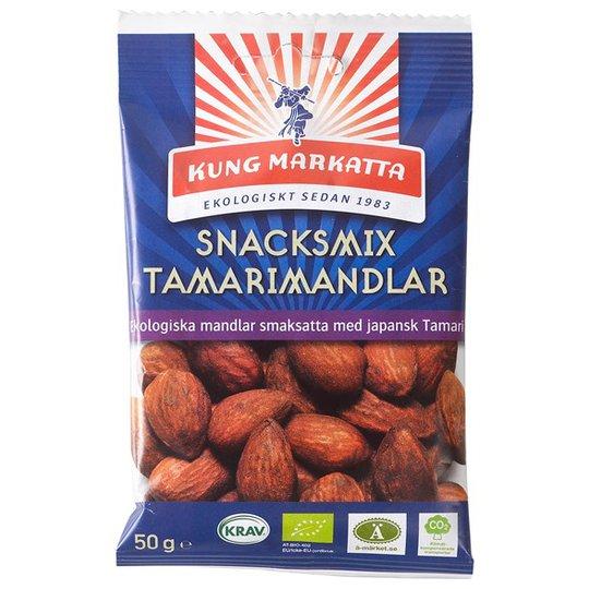 Kung Markatta Snacksmix Tamarimandlar, 50 g