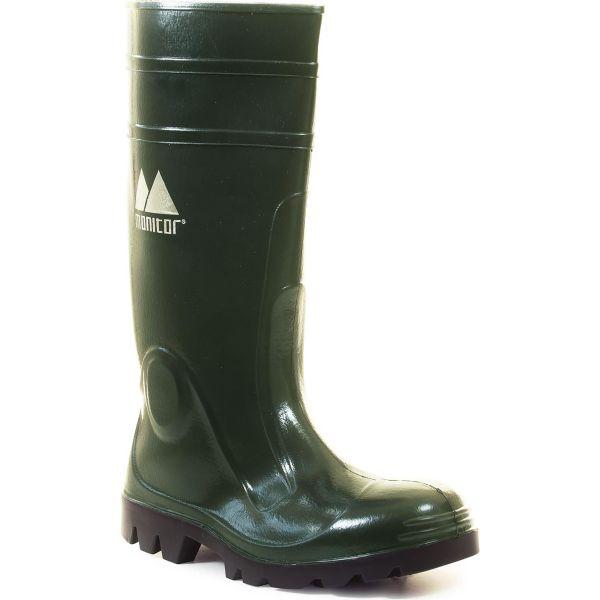 Monitor Clip Støvler grønn, vanntett Str. 36