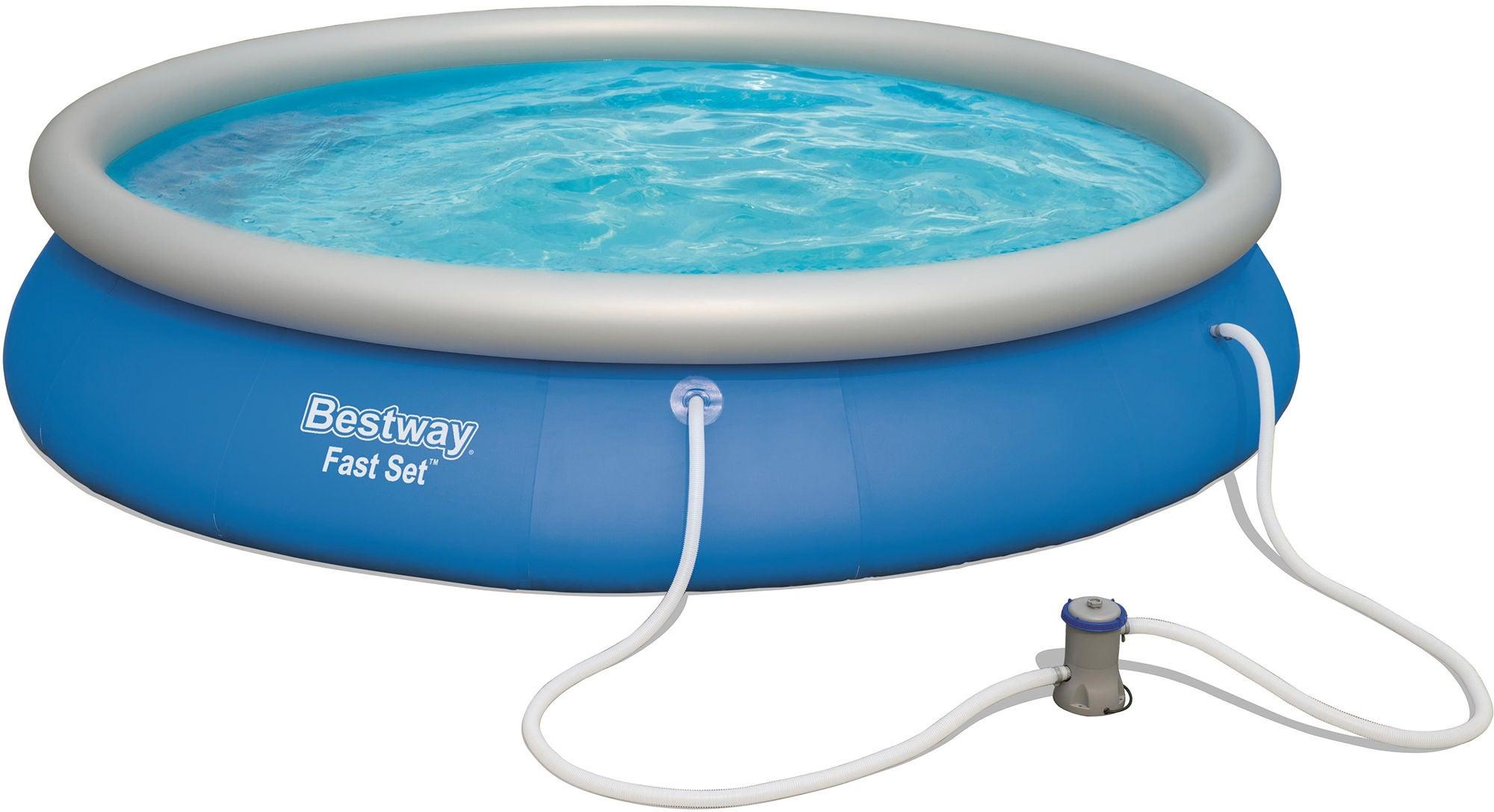 Bestway Fast Set Pool m. Tillbehör Ø457
