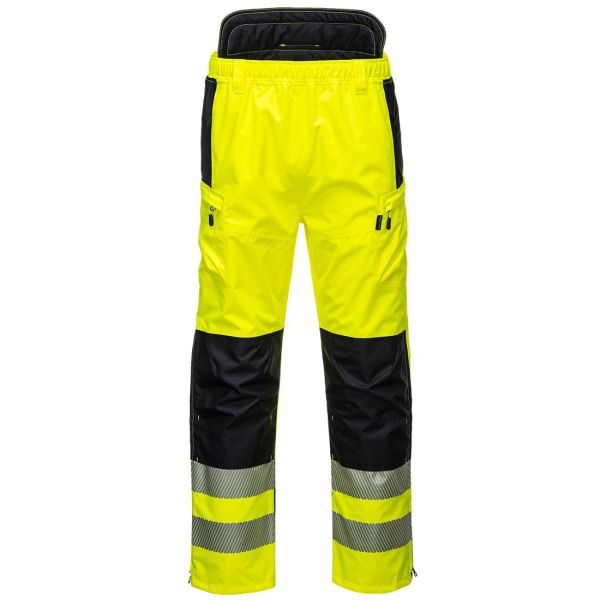 Portwest PW3 Byxa Hi-Vis yellow S
