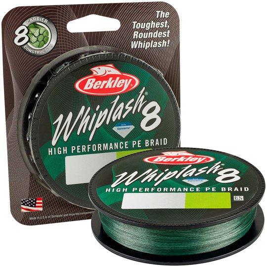 Berkley Whiplash 8 Green 300 m flätlina