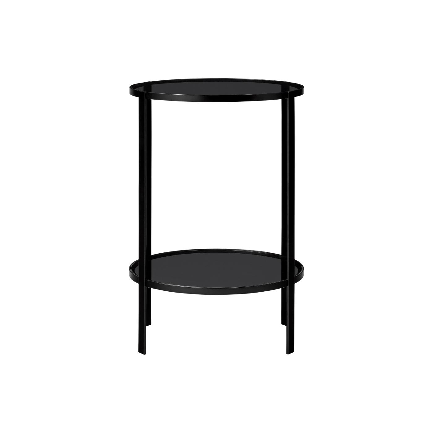 Avlastningsbord FUMI table 40 cm svart, AYTM