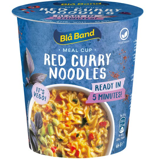 Meal Cup Red Curry Noodles - 18% alennus