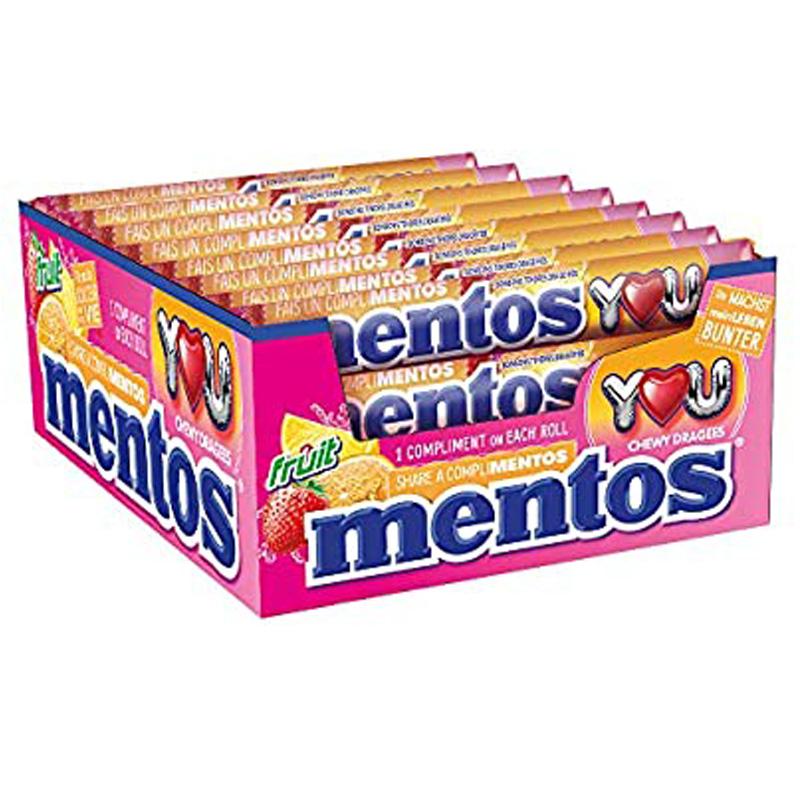 Mentos Frukt 24-pack - 23% rabatt