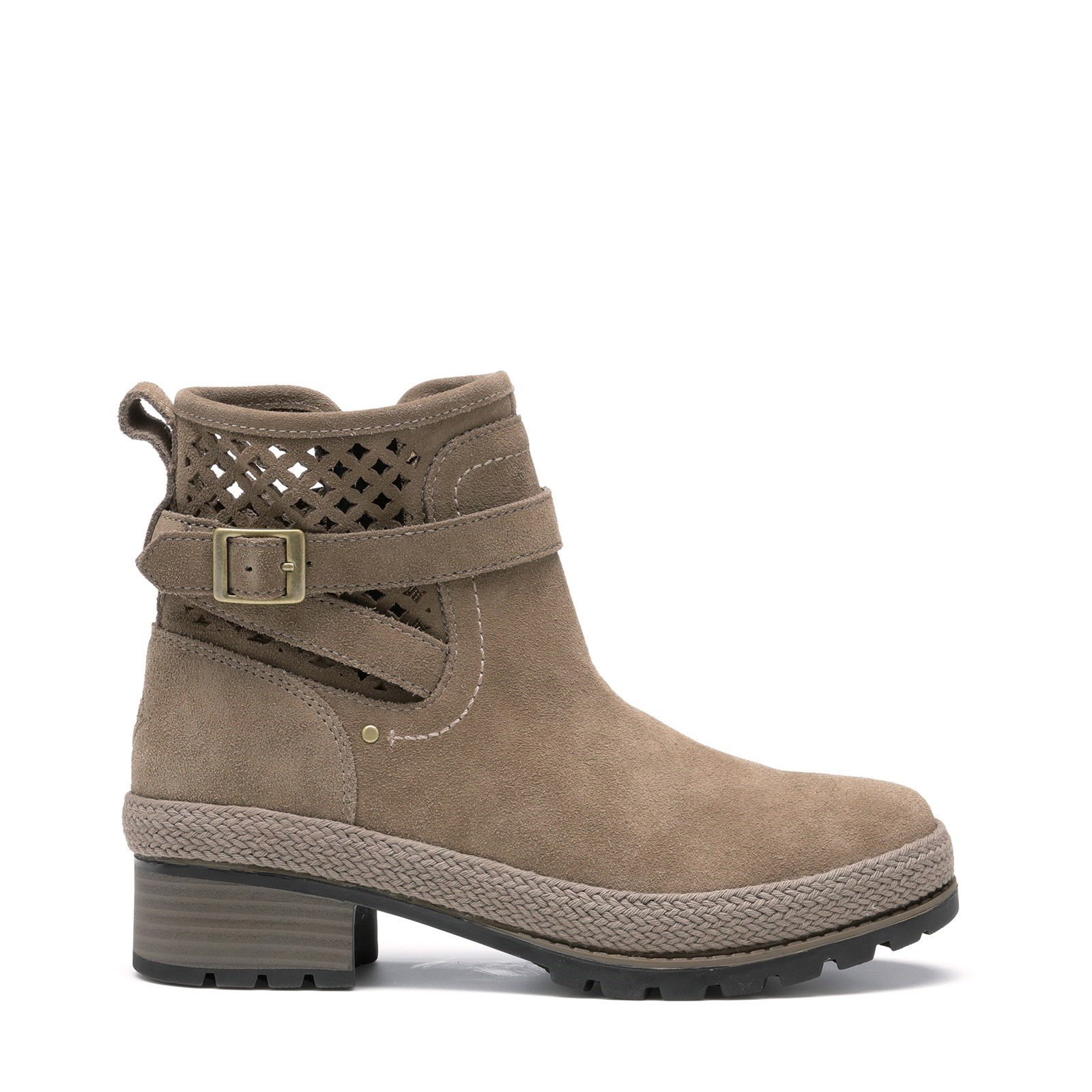 Muck Boots Women's Liberty Perforated Leather Boots Various Colours 31814 - Grey 5.5