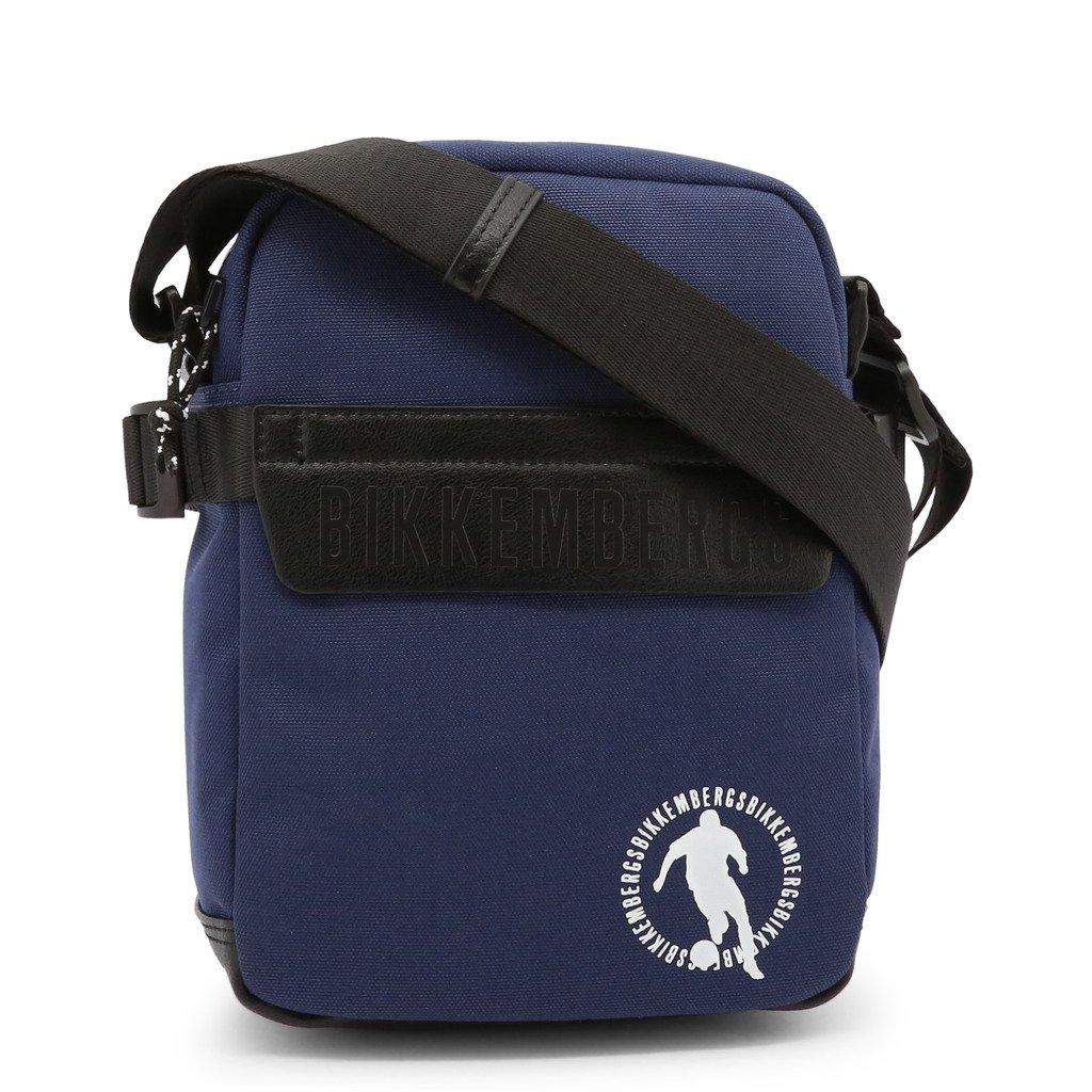 Bikkembergs Men's Crossbody Bag Blue E2BPME1M0012 - blue NOSIZE
