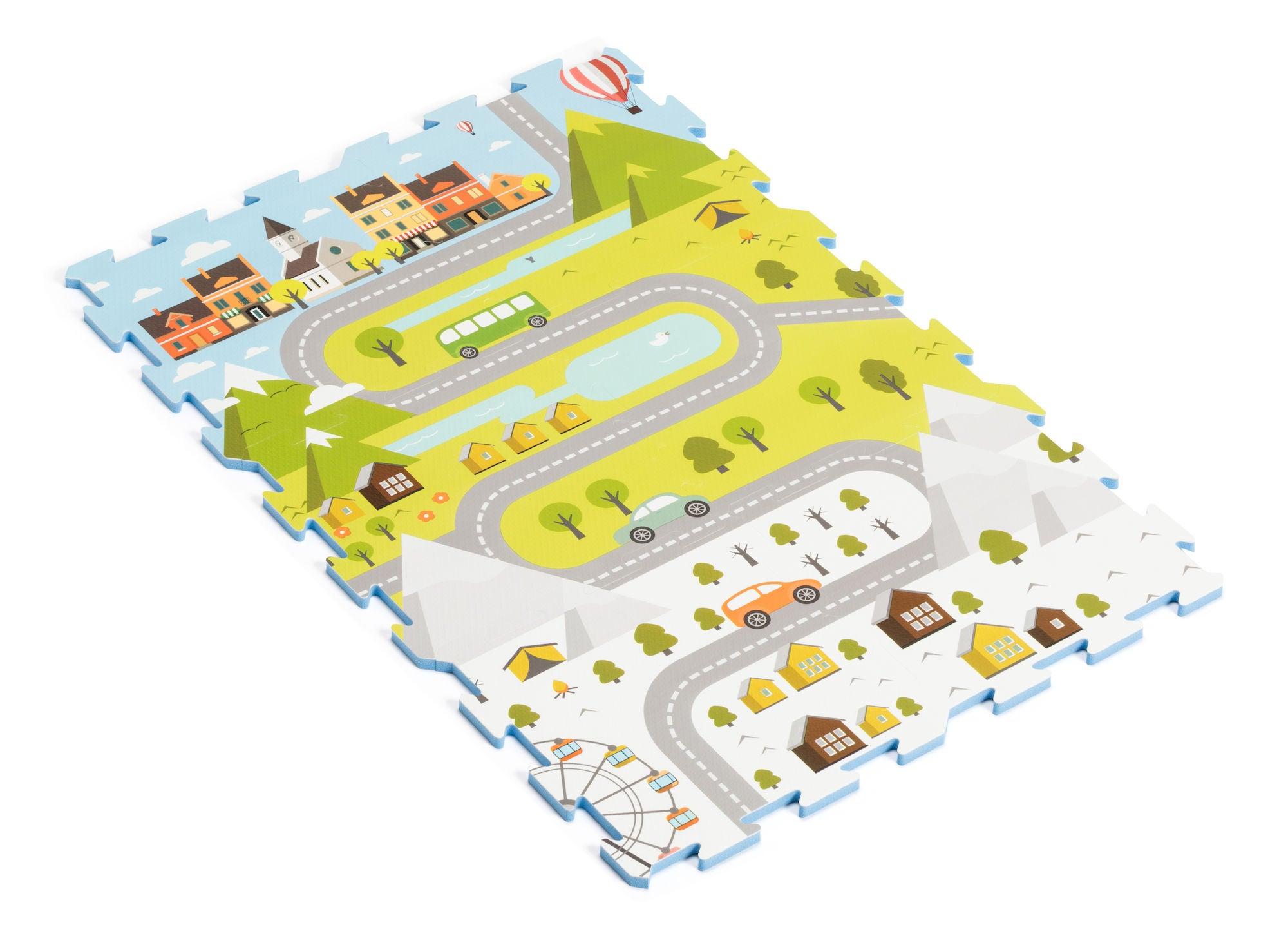 Alice & Fox Kartta Leikkialusta 6 Palaa