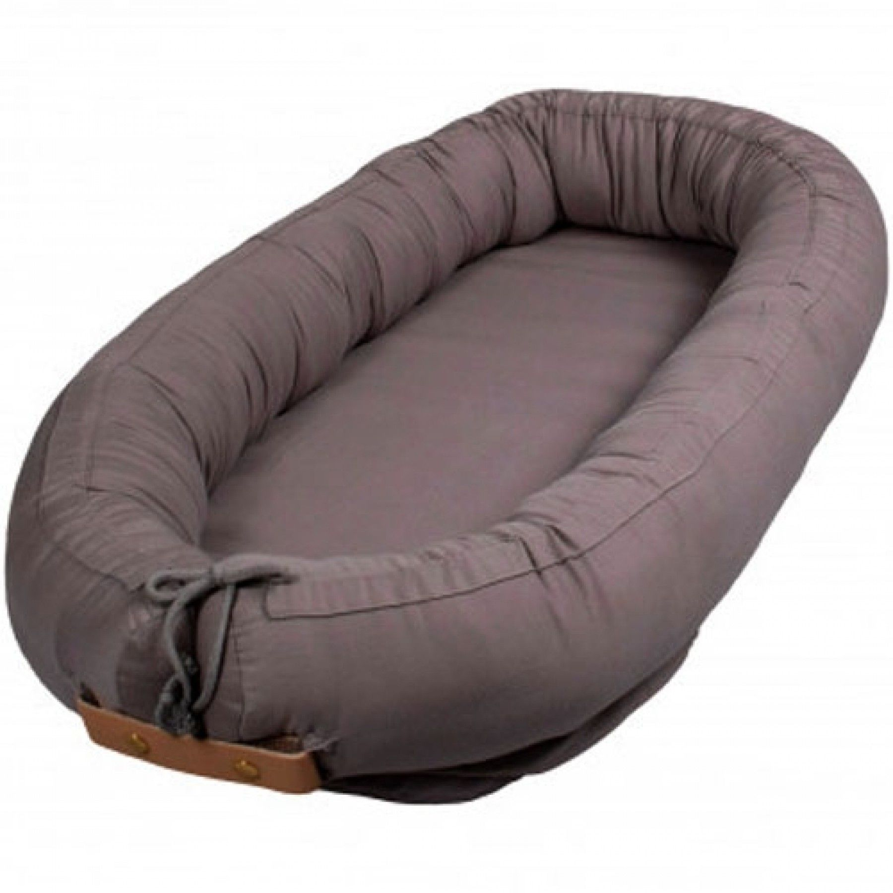 Filibabba - Premium kapok baby nest, Grey (FI-K010)