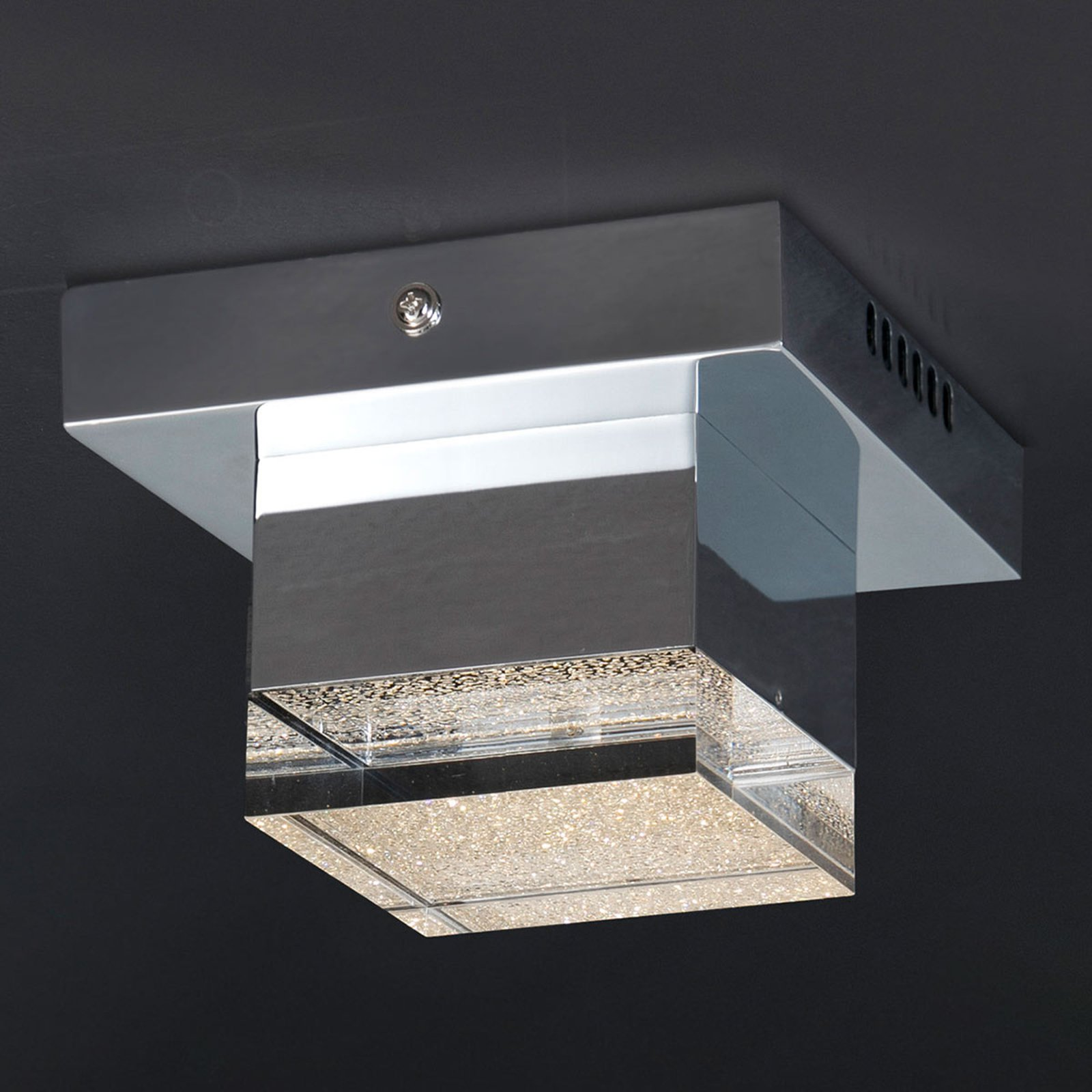 LED-taklampe Prisma, 1 lyskilde