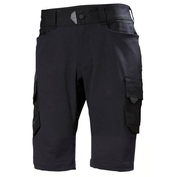 Helly Hansen Workwear Chelsea Evolution Työshortsit musta, 4-suuntainen joustomateriaali C44