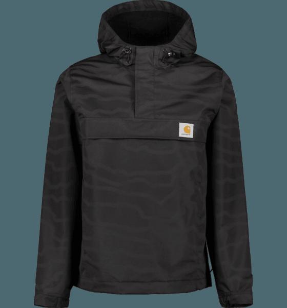 Carhartt M Nimbus Pullover Jackor FREEZE PRINT/BLACK
