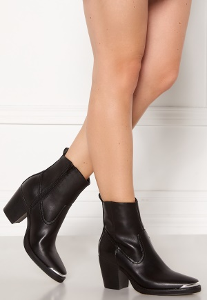 ONLY Belize PU Heeled Boot Black 37