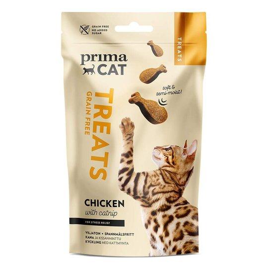PrimaCat Soft Grain Free Chicken with Catnip 50 g