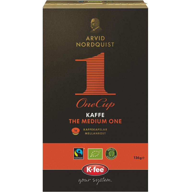 "Eko Kaffekapslar ""The Medium One"" 16-pack - 15% rabatt"