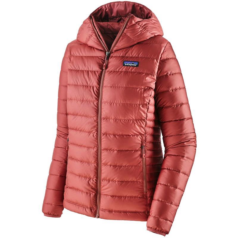 Patagonia Down Sweater Hoody XS Hettejakke, dame, Rosehip