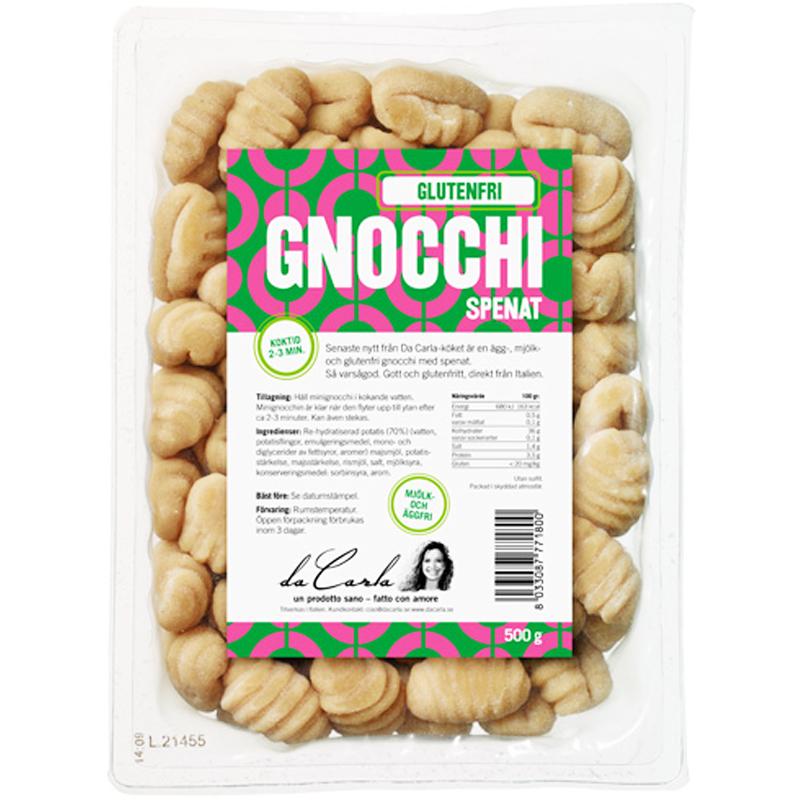 Gnocchi Spenat 500g - 60% rabatt
