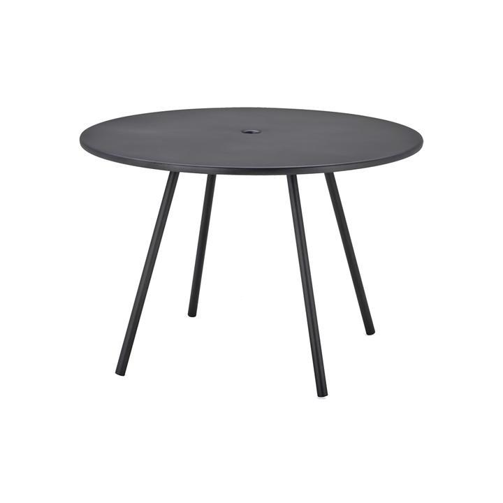 Runt bord utomhus 110 cm AREA lavagrå, Cane-line