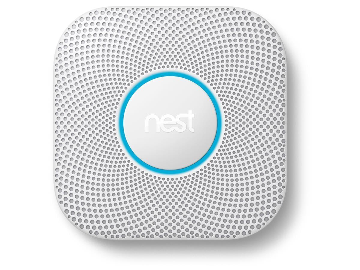 Google - Nest Protect Smart Smoke Detector With Battery SE/FI