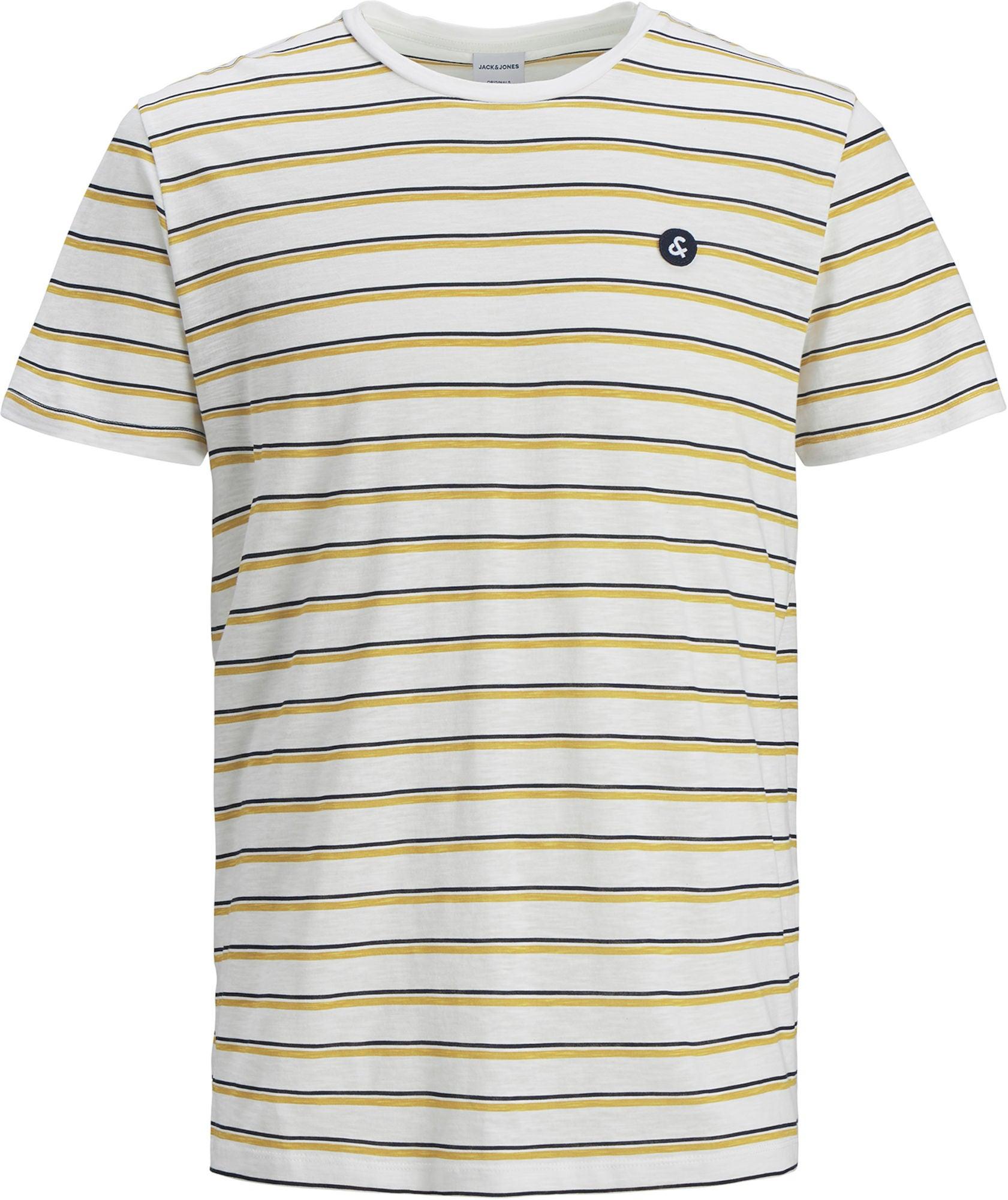 Jack & Jones Stanford T-Shirt, Cloud Dancer 140