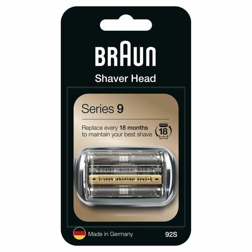 Braun 92s Silver Tillbehör