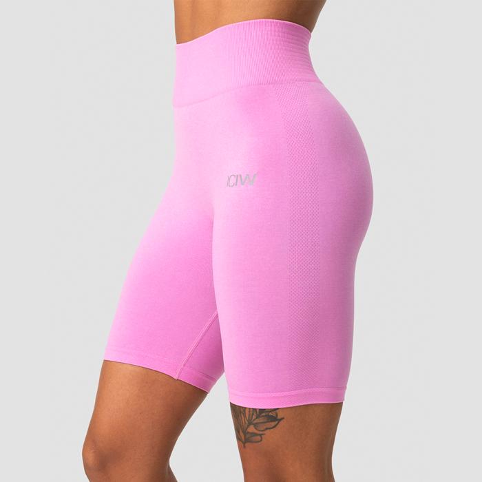Define Seamless Bikers, Pink Melange