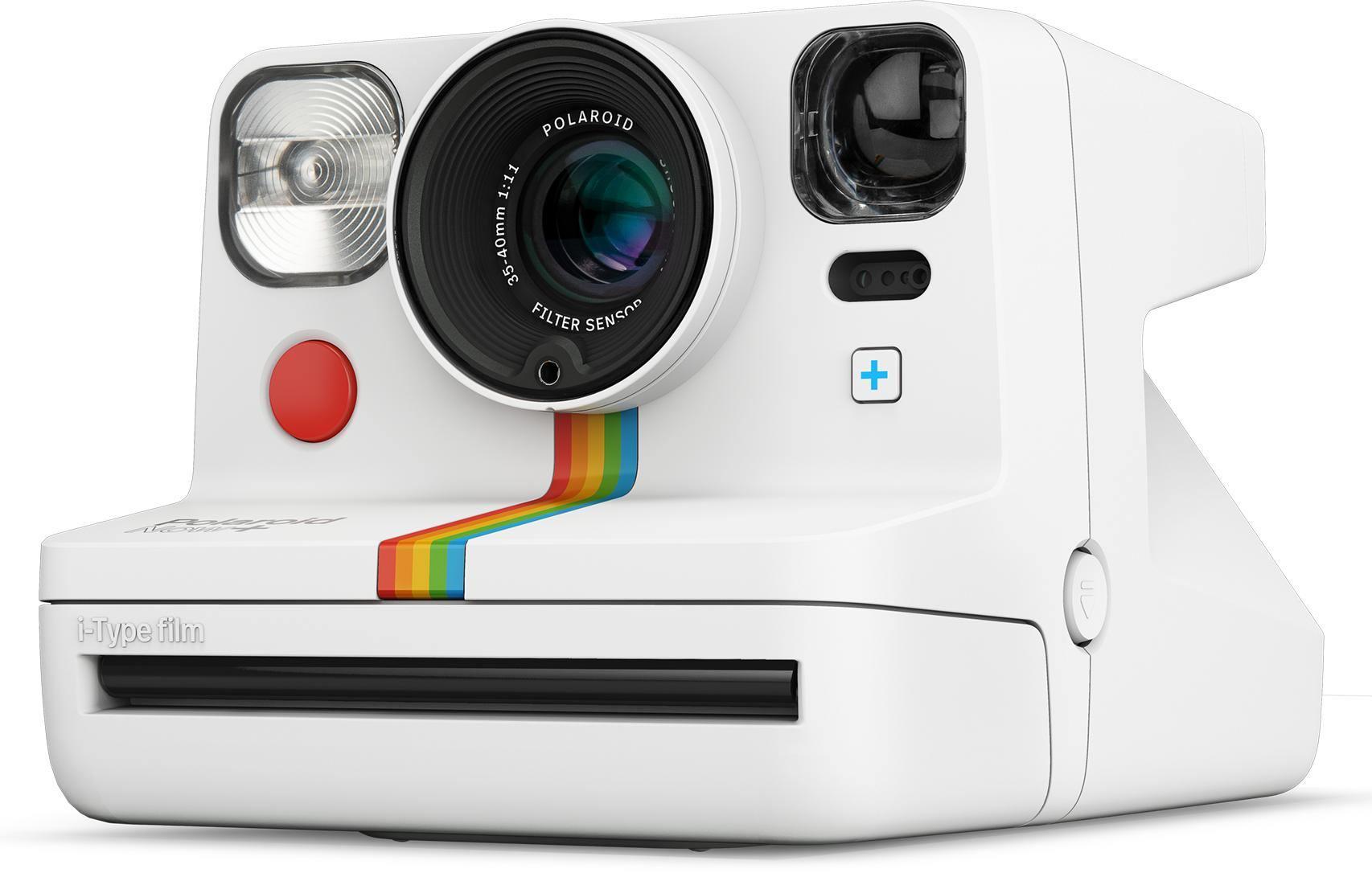 Polaroid - Now+ - Point & Shoot Camera - White