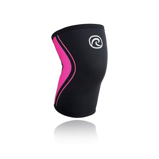 RX Knee Sleeve, 5mm, Black/Pink