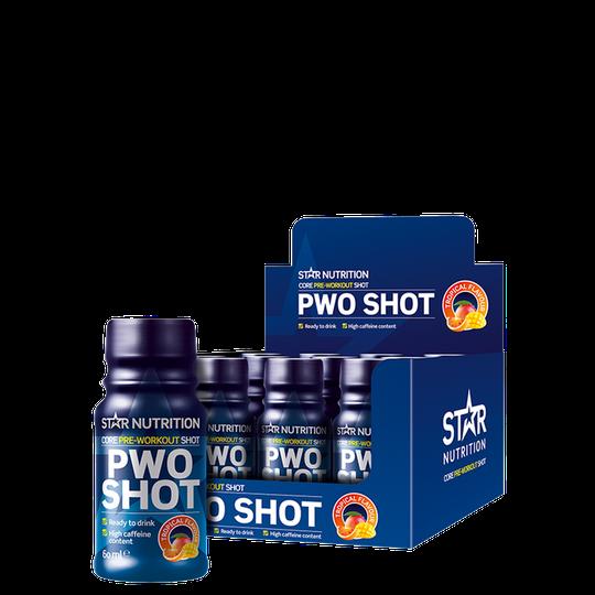 12 x Star Nutrition PWO Shot, 60 ml