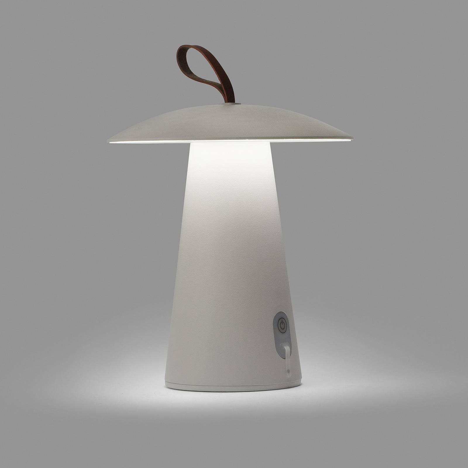 LED-terassivalo Task, siirrettävä, himmennettävä