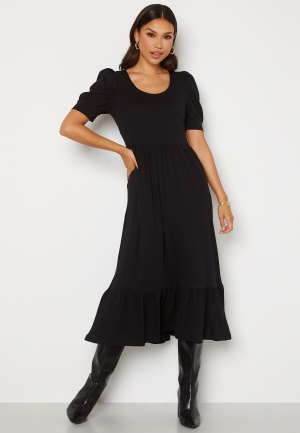 ONLY May Life S/S Puff Dress Black M