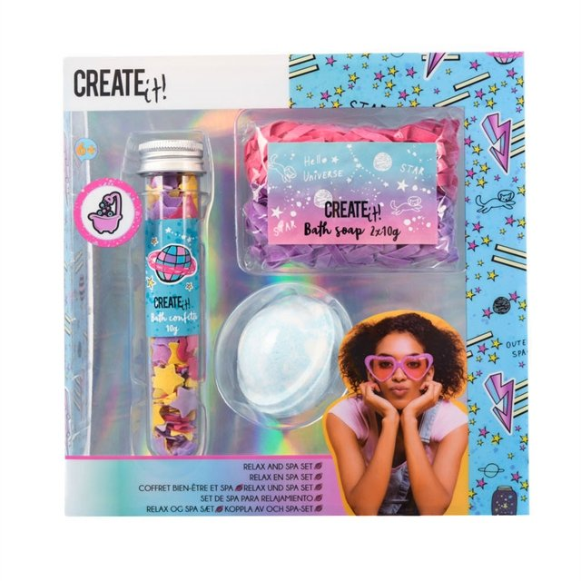 Create It! - Relax and Spa Set Galaxy (84410)