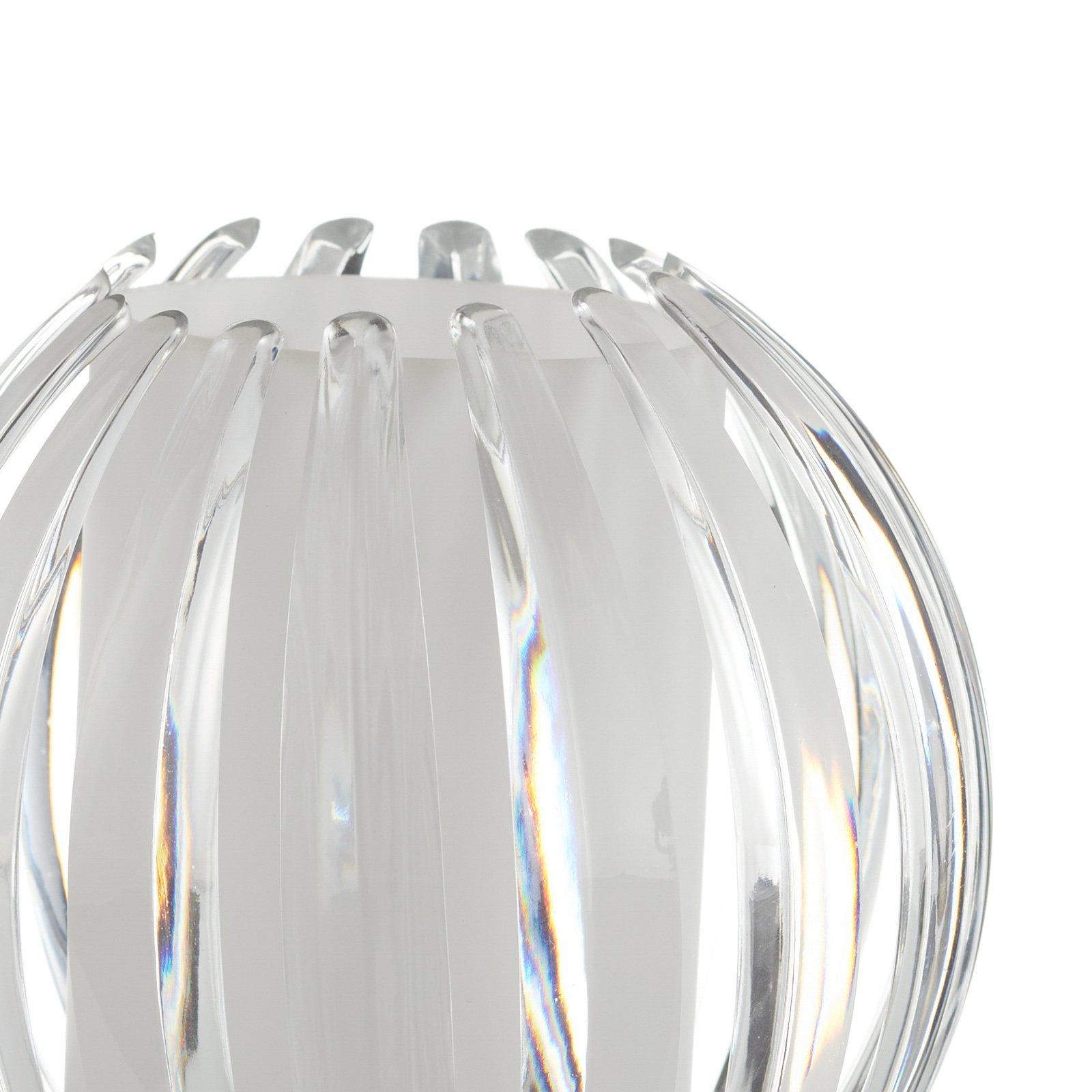 Bordlampe Claw med berøringsfunksjon, skjerm klar