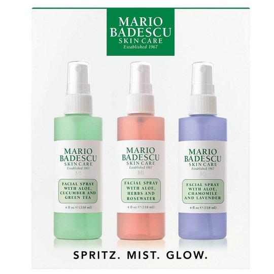 Mario Badescu Spritz, Mist & Glow, Mario Badescu Kasvosuihkeet