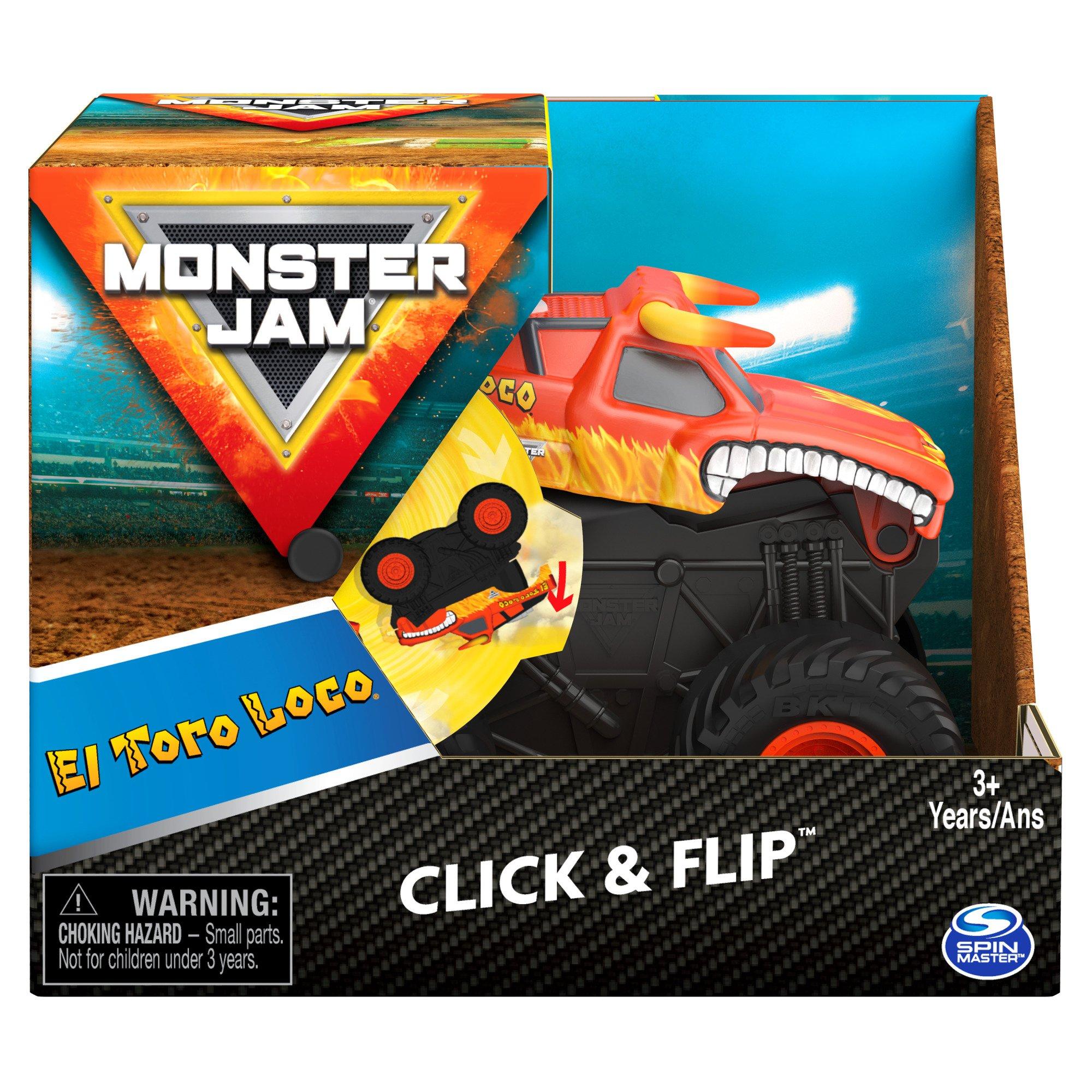 Monster Jam - Click & Flip 1:43 - El Toro Loco