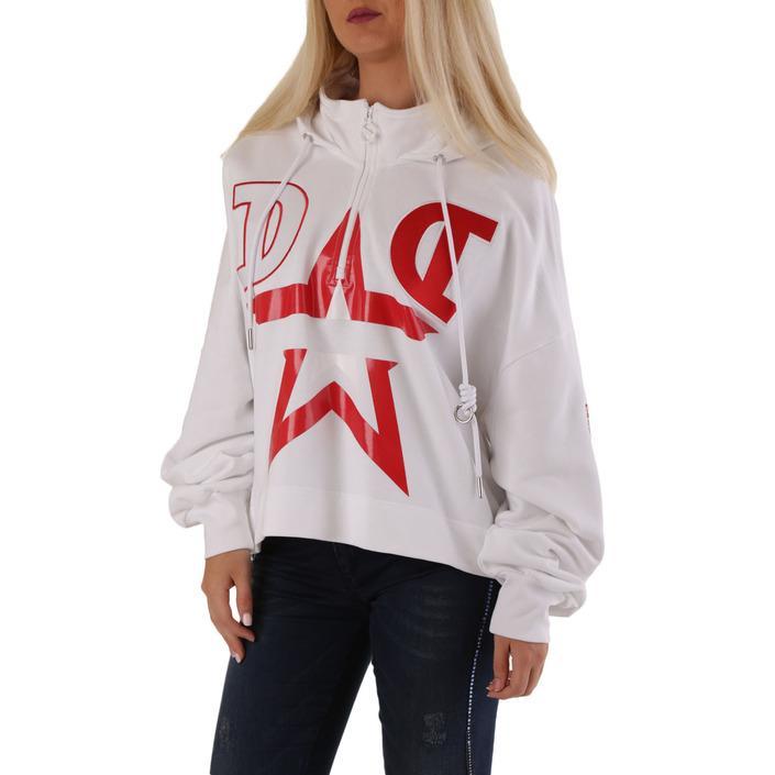 Diesel Women's Sweatshirt Various Colours 312571 - white S