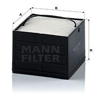 Polttoainesuodatin MANN-FILTER PU 89