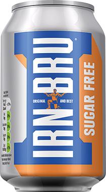 IRN BRU Sugar Free 330ml