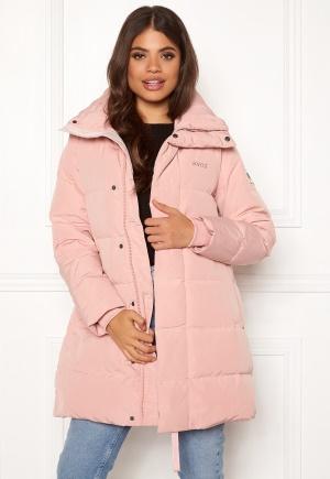 Svea Slim Fit Padded Jacket 505 Soft Pink M