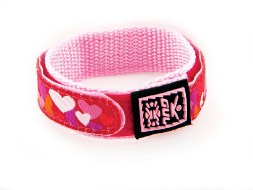 GUL Velcro Heart Red 16mm 443602