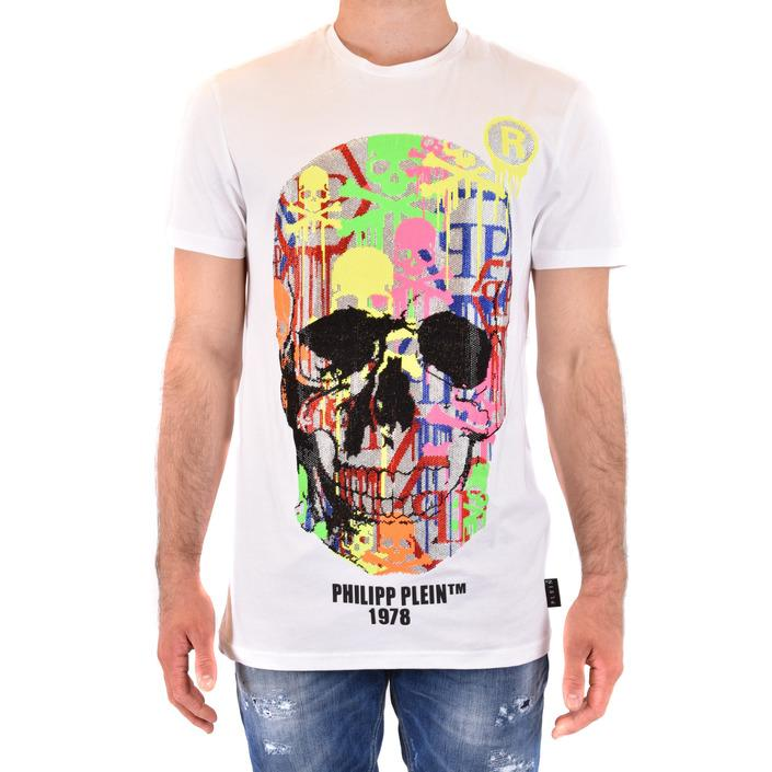 Philipp Plein Men's T-Shirt White 218034 - white L