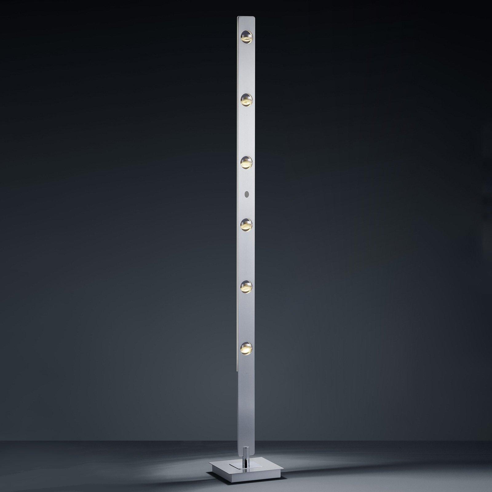 BANKAMP Caro LED-gulvlampe med bevegelsesstyring