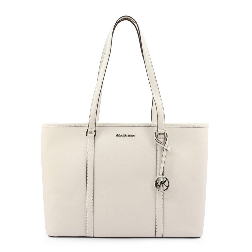 Michael Kors Women's Sady Shopping Bag White 347001 - white NOSIZE