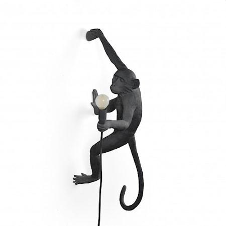 Monkey Lamp Utomhus Hängande Höger Svart