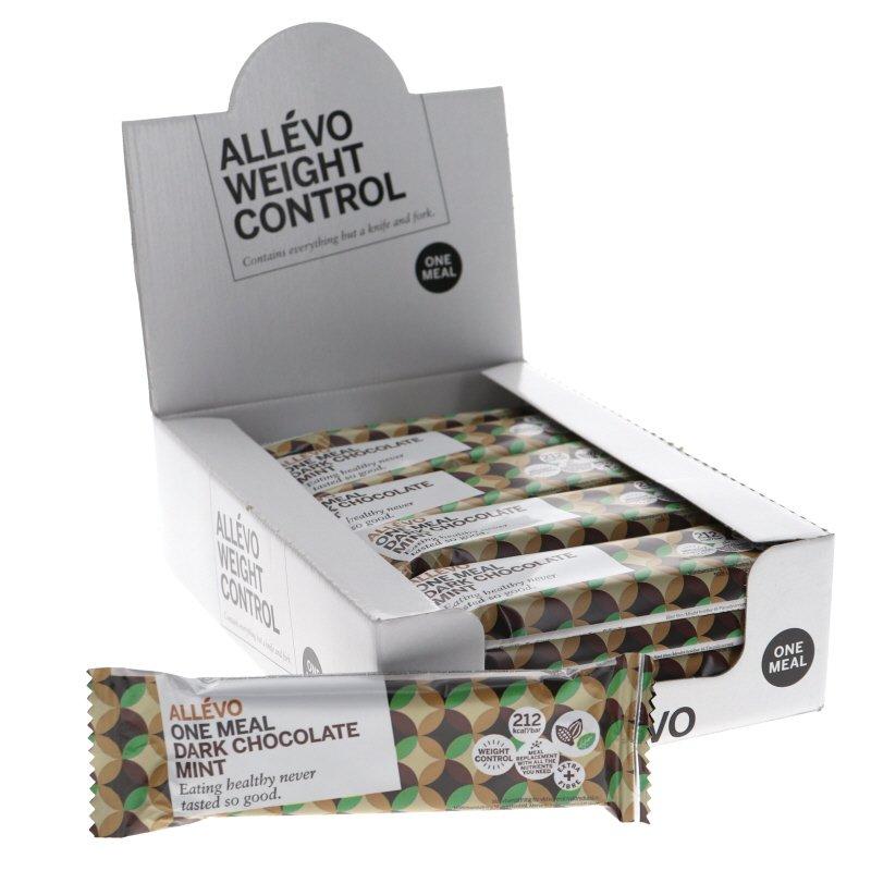 Proteiinipatukat Dark Chocolate Mint 20kpl - 68% alennus