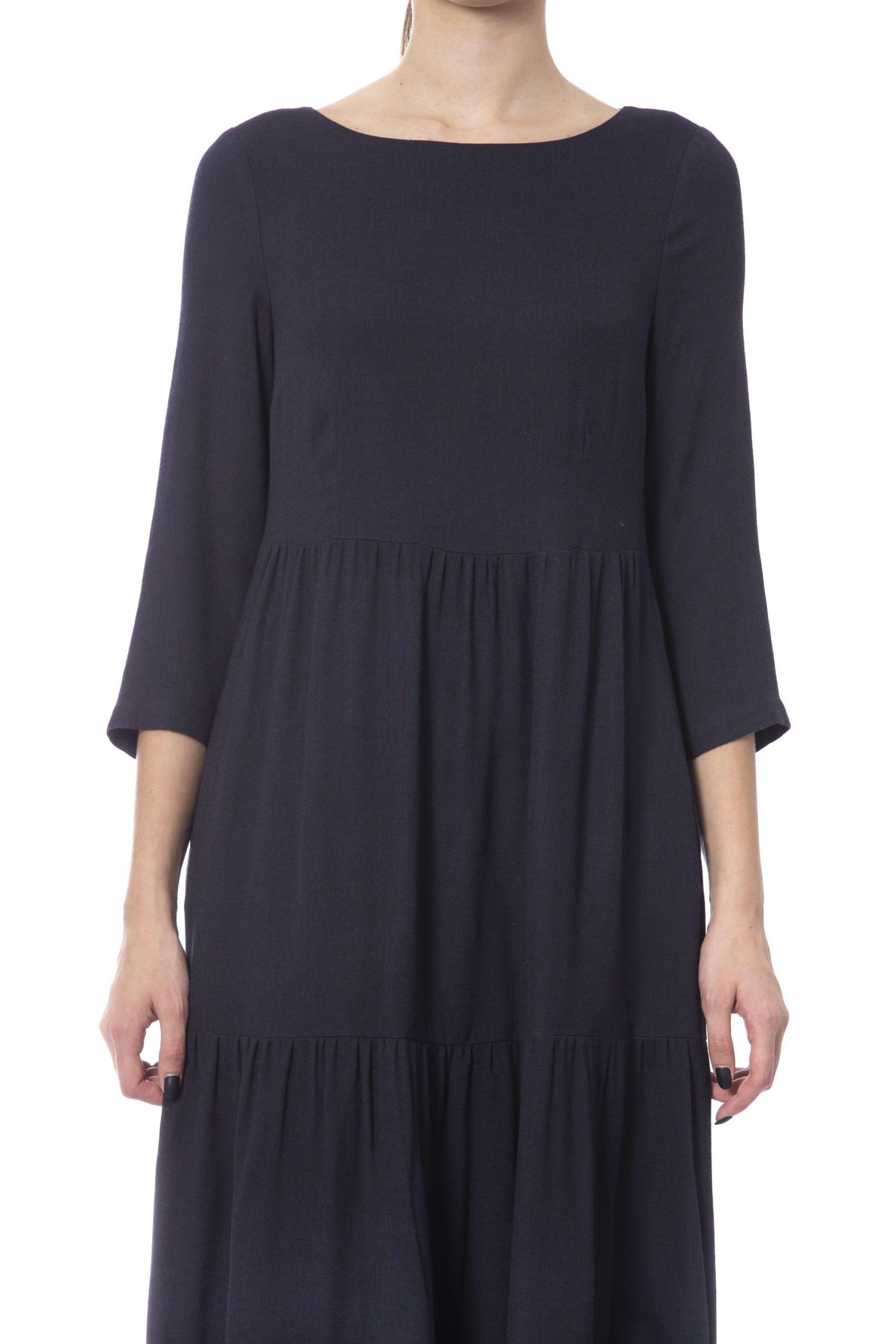 Peserico Women's Dress Blue PE993668 - IT42 | S