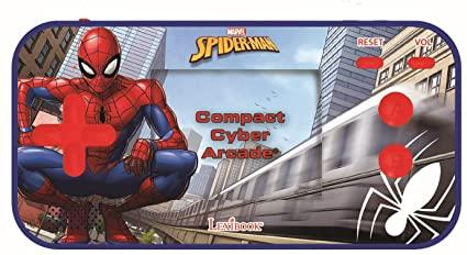 Lexibook - Handheld console Compact Cyber Arcade Spider-Man (JL2367SP)
