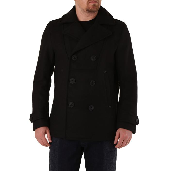 Diesel Men's Coat Black 320425 - black S