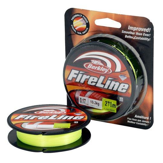 Berkley FireLine Flame Green 270 m flätlina