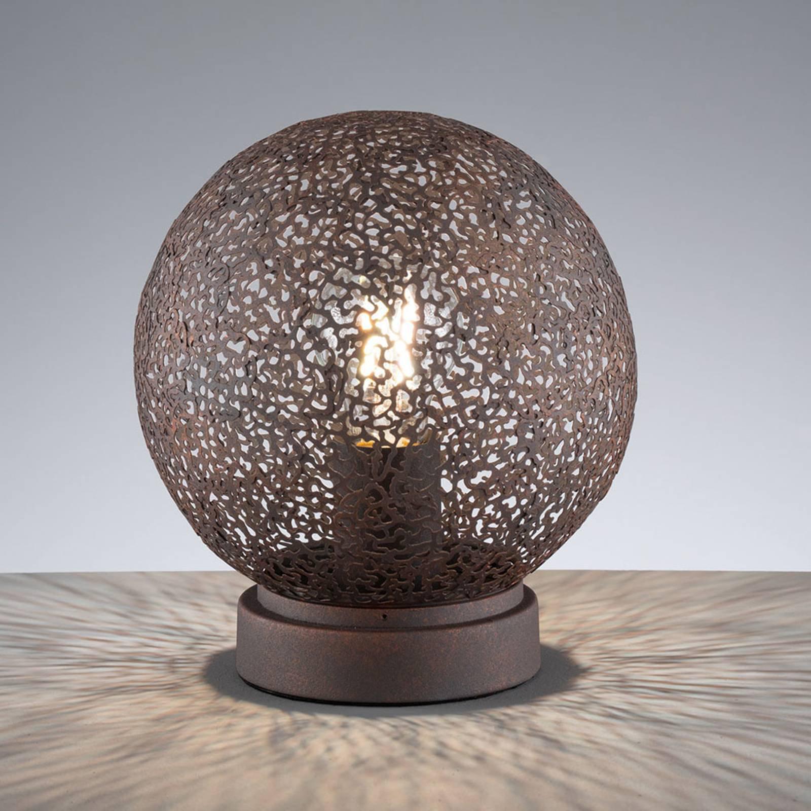 Bordlampe Willo, høyde 22 cm, Ø 20 cm